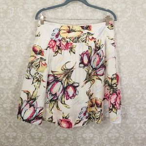 Cabi Afternoon in the Garden Floral Skirt